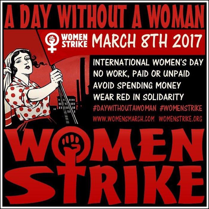Μια ημέρα χωρίς τις γυναίκες σε 50 χώρες του κόσμου
