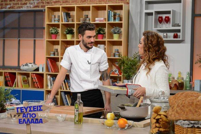 Η Ολυμπιάδα Μαρία Ολυμπίτη έκανε εκπομπή το πάθος της για τη μαγειρική - εικόνα 7