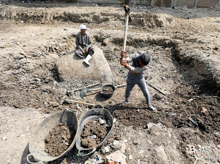 Κολοσσιαίο άγαλμα του Ραμσή βρέθηκε σε φτωχογειτονιά του Καΐρου - εικόνα 6