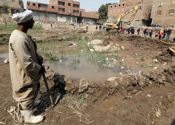 Κολοσσιαίο άγαλμα του Ραμσή βρέθηκε σε φτωχογειτονιά του Καΐρου - εικόνα 9