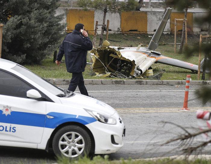 Πέντε νεκροί από τη συντριβή ελικοπτέρου στην Κωνσταντινούπολη - εικόνα 4