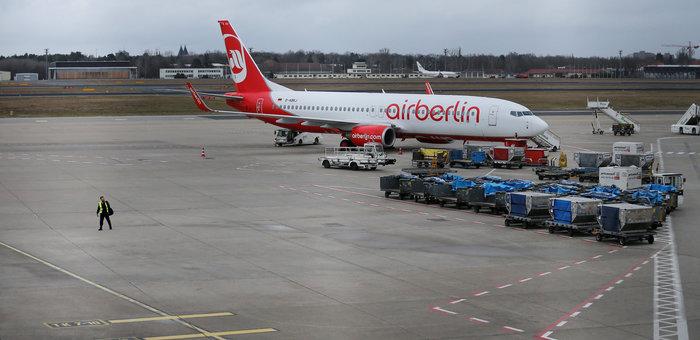 Απεργιακό μπλακ άουτ στα αεροδρόμια του Βερολίνου - εικόνα 2