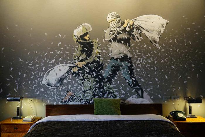 Αυτό είναι το ξενοδοχείο στη Βηθλεέμ με τα έργα του Μπάνκσι - εικόνα 9