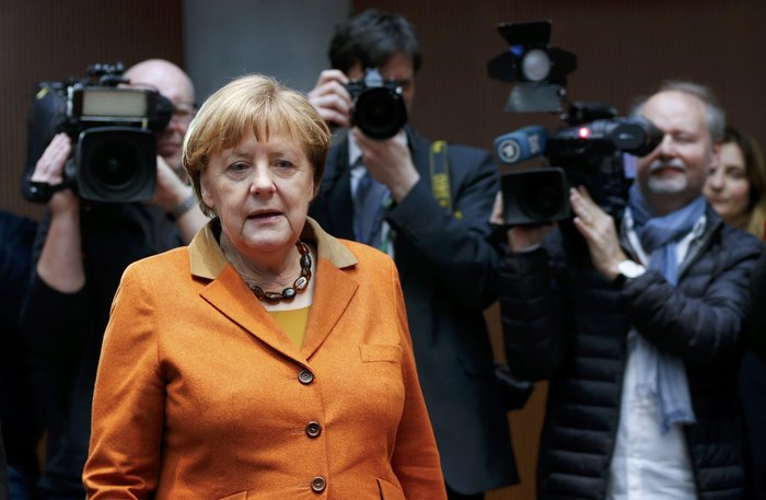 Η γερμανίδα καγκελάριος ΄Ανγκελα Μέρκελ
