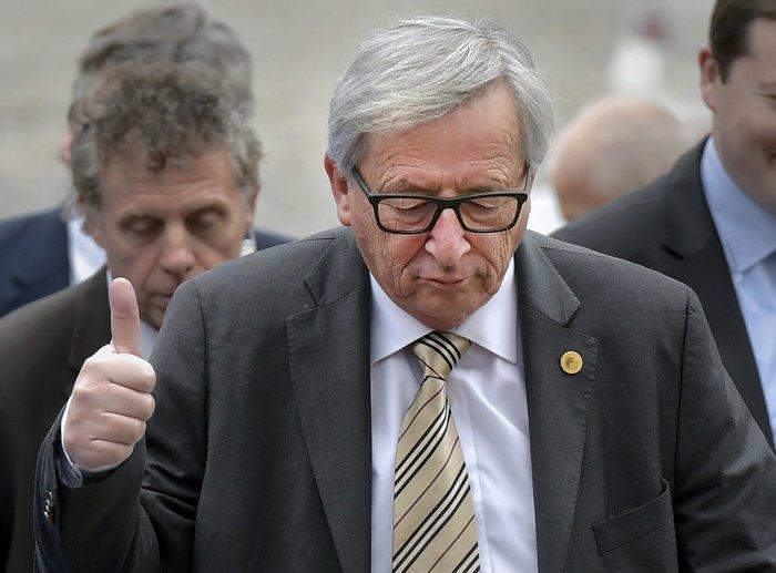 O πρόεδρος της Κομισιόν Ζ-Κ. Γιούνκερ