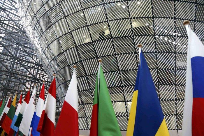 To κτίριο που πραγματοποιήθηκε η Σύνοδος Κορυφής στις Βρυξέλλες