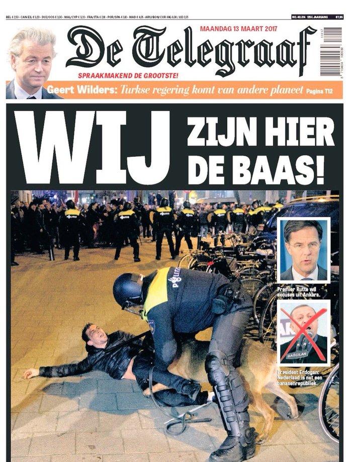 Λάδι στη φωτιά από ολλανδική εφημερίδα: Εδώ είναι το αφεντικό!