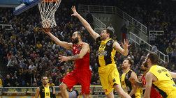 Basket League: Επιβλήθηκε και της ΑΕΚ ο Ολυμπιακός