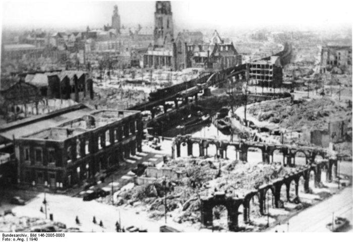 Όταν η Λουφτβάφε ισοπέδωσε το Ρότερνταμ λόγω της αντίστασης - εικόνα 2