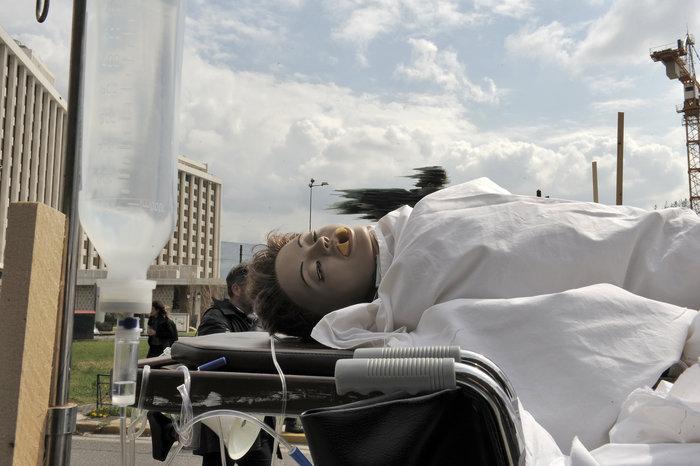 Ενταση στην πορεία διαμαρτυρίας των εργαζομένων στα νοσοκομεία - εικόνα 6