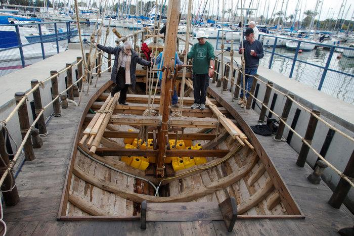 Αντίγραφο αρχαιοελληνικού πλοίου καθέλκυσαν οι Ισραηλινοί - εικόνα 3