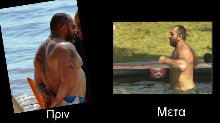 Η μεταμόρφωση: O Bo πριν και μετά την απώλεια 16 κιλών στο Survivor