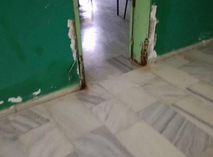 Σχολικό συγκρότημα ντροπή - Και όμως εδώ κάνουν μάθημα (Φωτό) - εικόνα 2