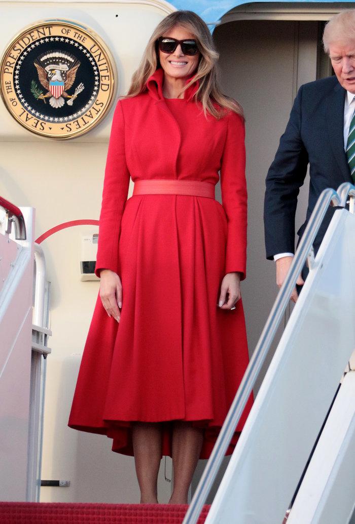 Διακοπές με τα πεθερικά για τον Τραμπ - Φωτιά στα κόκκινα η Μελάνια