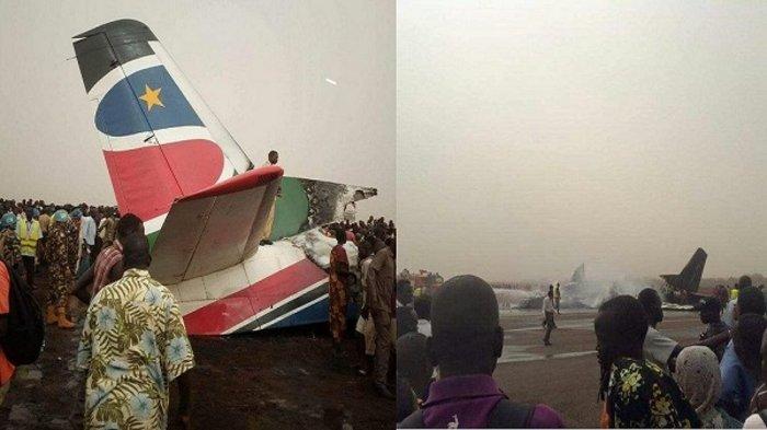 Πολλοί τραυματίες σε συντριβή αεροσκάφους στο Νότιο Σουδάν