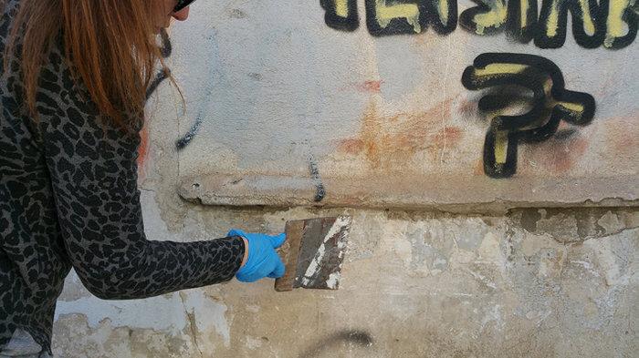 Μια street art επέμβαση σε εγκαταλελειμμένο κτίριο στην Πλ. Αττικής - εικόνα 2