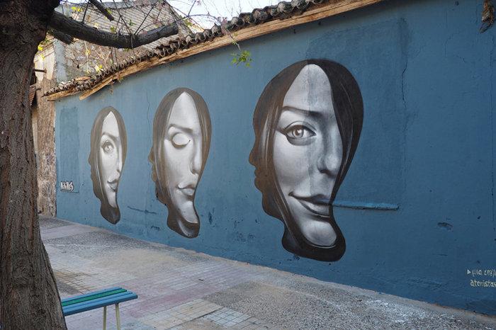 Μια street art επέμβαση σε εγκαταλελειμμένο κτίριο στην Πλ. Αττικής - εικόνα 15
