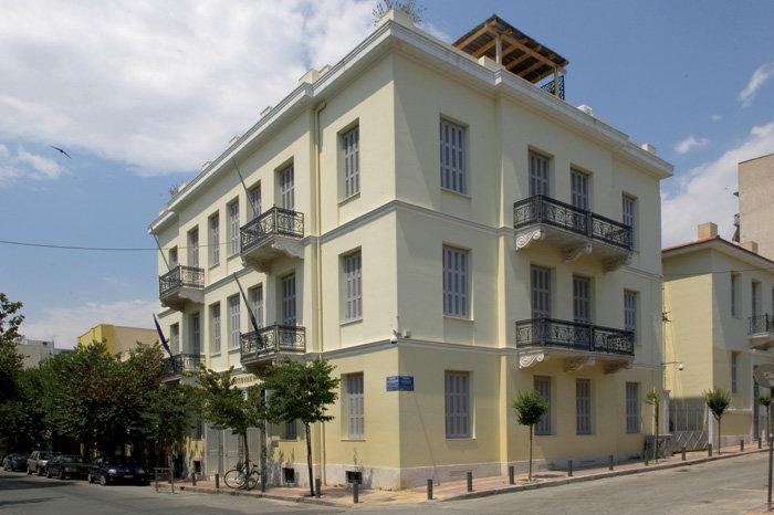 ΜΟΥΣΕΙΟ ΙΣΛΑΜΙΚΗΣ ΤΕΧΝΗΣ Κτίριο των αρχών του 20ού αιώνα που αποκαταστάθηκε το 2004 από τον αρχιτέκτονα Π. Καλλιγά.