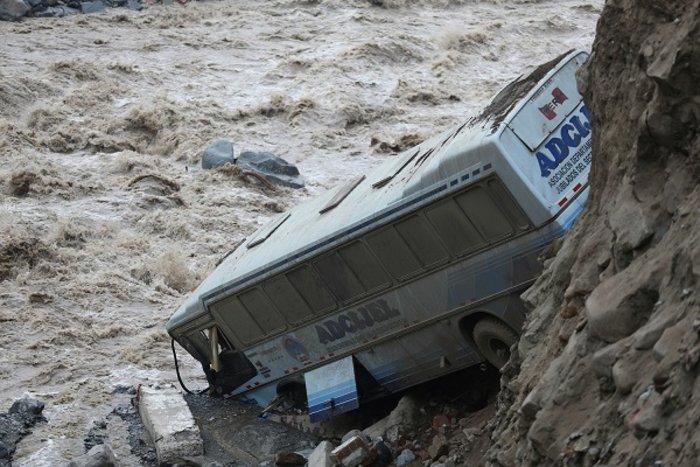Σε κατάσταση έκτακτης ανάγκης το Περού από μεγάλες πλημμύρες