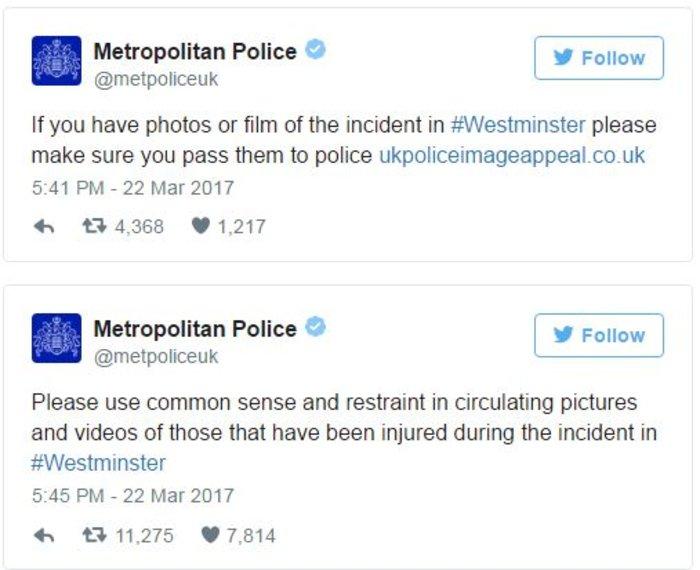Τρόμος στο Λονδίνο, επίθεση με 4 νεκρούς και 20 τραυματίες - εικόνα 2