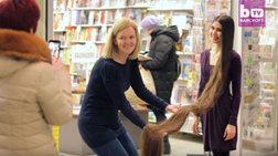Λετονή η σύγχρονη Ραπουνζέλ με μαλλιά...2,3 μέτρα  video