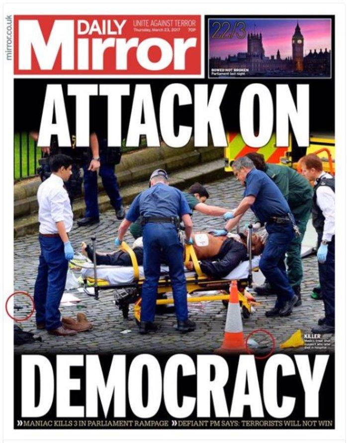 Πρωτοσέλιδα βρετανικού Τύπου: «Χτύπημα στην δημοκρατία» - εικόνα 2