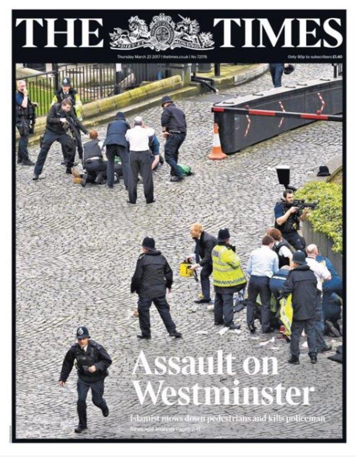 Πρωτοσέλιδα βρετανικού Τύπου: «Χτύπημα στην δημοκρατία» - εικόνα 4