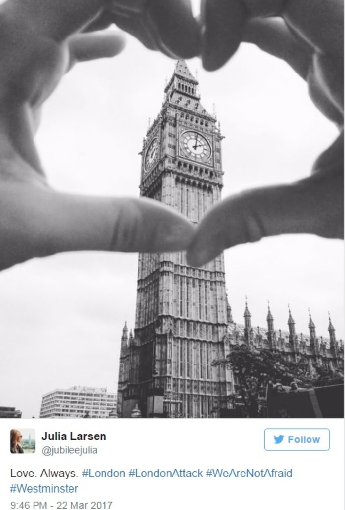 #WeAreNotAfraid: Οχι στον φόβο λένε οι Λονδρέζοι