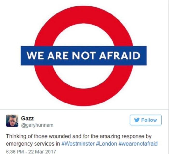 #WeAreNotAfraid: Οχι στον φόβο λένε οι Λονδρέζοι - εικόνα 6