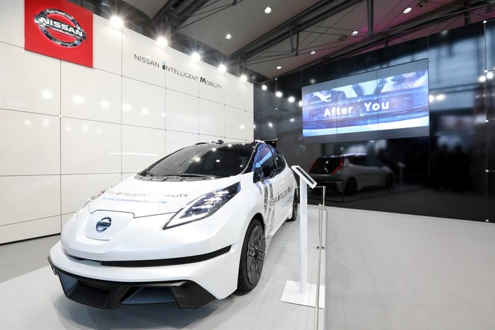Με διαστημική τεχνολογία αυτόνομης οδήγησης η Nissan στην CeBIT