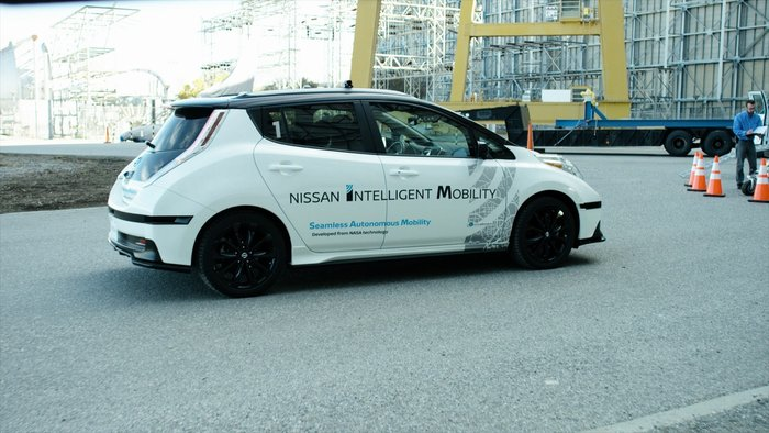 Με διαστημική τεχνολογία αυτόνομης οδήγησης η Nissan στην CeBIT - εικόνα 2