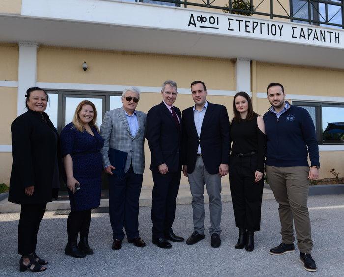 Επίσκεψη του Πρέσβη των Η.Π.Α. στην ΤΥΡΑΣ των Ελληνικών Γαλακτοκομείων - εικόνα 2