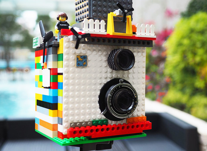 Instax Magic: Μια φωτογραφική μηχανή φτιαγμένη από τουβλάκια LEGO