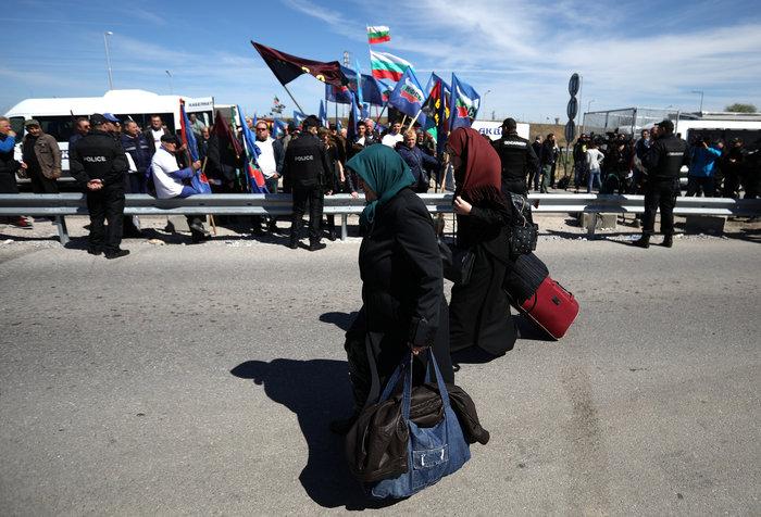 Ενταση στα σύνορα Τουρκίας - Βουλγαρίας από εθνικιστές - εικόνα 4