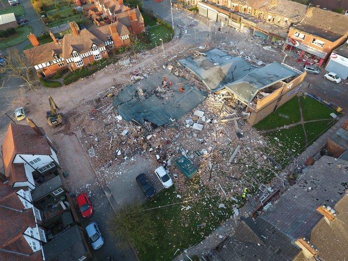 Βρετανία: Ισχυρή έκρηξη με 32 τραυματίες-Κατέρρευσαν σπίτια - εικόνα 2