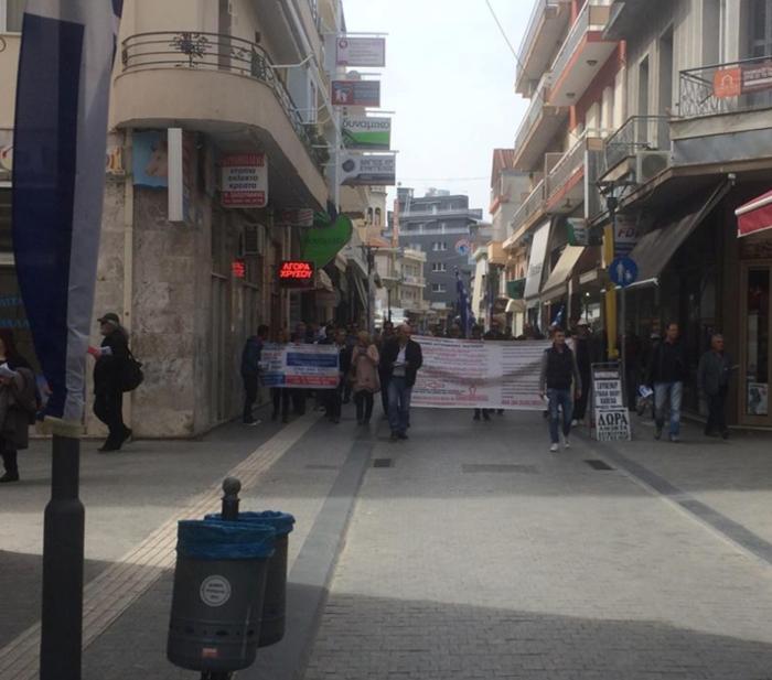 Συνέλληνες-υποστηρικτές του Σώρρα διαδηλώνουν στην Τρίπολη φωτό
