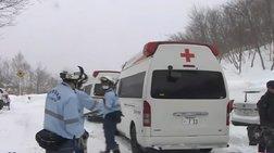 Φόβοι για εννέα νεκρούς μαθητές λυκείου από χιονοστιβάδα