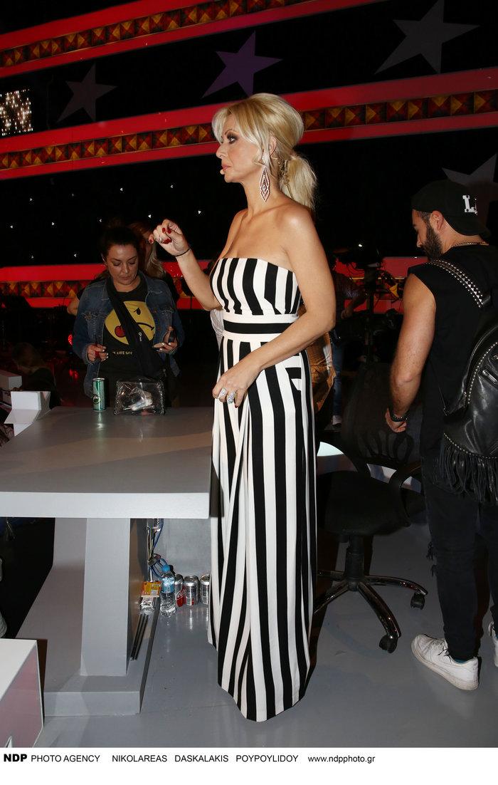 Βίσση - Γκαγκάκη στο Star Academy: Ποια φόρεσε το ασπρόμαυρο ριγέ καλύτερα; - εικόνα 7