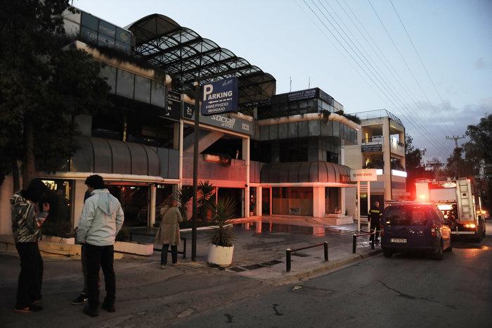 Υπό έλεγχο τέθηκε η φωτιά σε εμπορικό κέντρο στο Χαλάνδρι - εικόνα 3