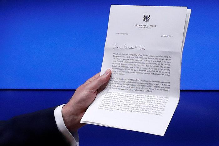 Αυτή είναι η επιστολή της Μέι για το Brexit - Το πλήρες κείμενο - εικόνα 2