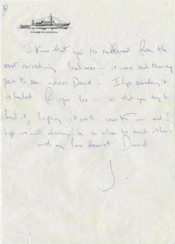 Τα γράμματα της Τζάκι σε άγγλο θαυμαστή λίγο πριν παντρευτεί τον Ωνάση - εικόνα 3