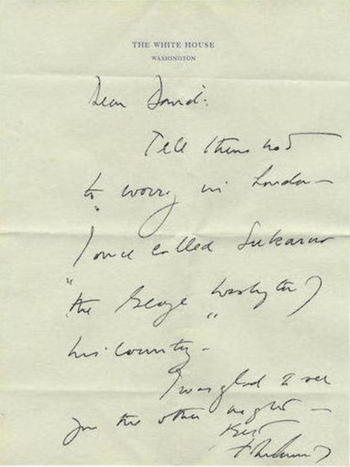 Τα γράμματα της Τζάκι σε άγγλο θαυμαστή λίγο πριν παντρευτεί τον Ωνάση - εικόνα 4