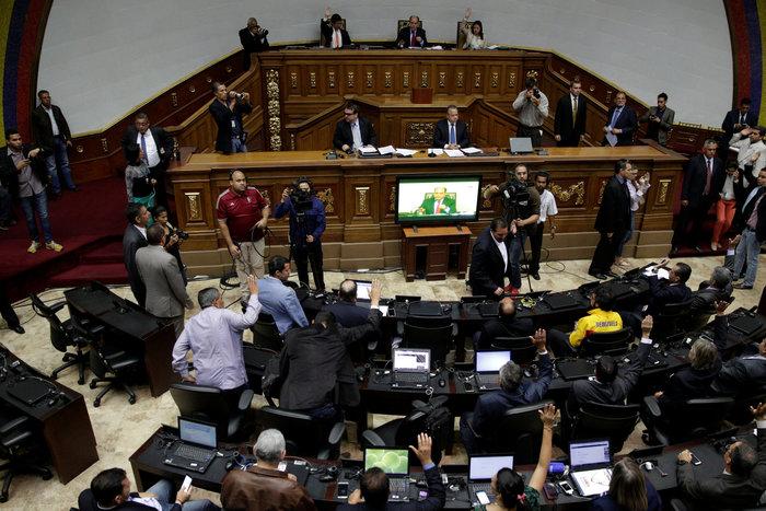 Δικαστικό πραξικόπημα στη Βενεζουέλα, διαλύθηκε η βουλή