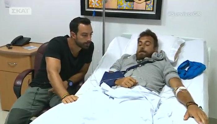 Survivor: Βίντεο και φωτογραφίες από τους τραυματίες Κολιδά και Ιωαννίδη - εικόνα 2
