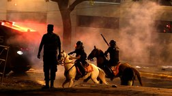 Κατάληψη και φωτιά στο Κογκρέσο της Παραγουάης (ΦΩΤΟ)