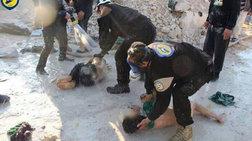 Φρίκη στη Συρία: Πάνω από 35 άμαχοι νεκροί από τοξικά αέρια