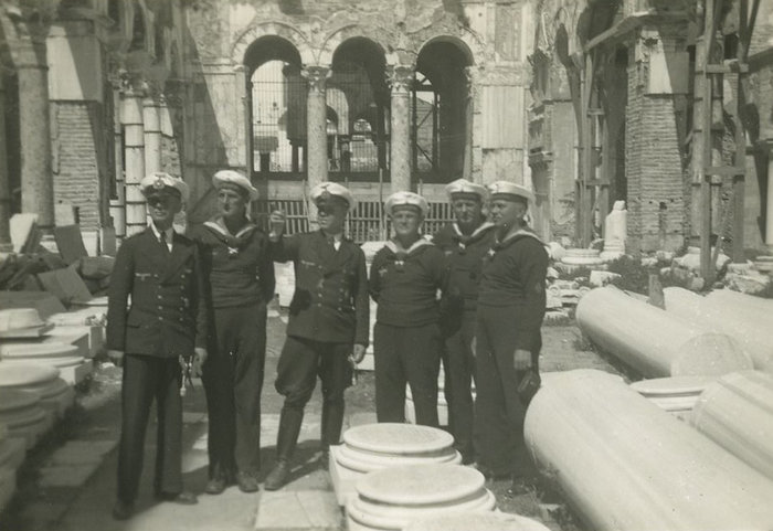 Μονάδα γερμανικού στρατού στον Αγιο Δημήτριο (Απρίλιος 1941)
