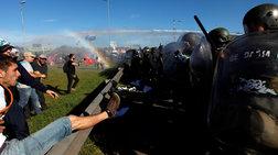 Αργεντινή: Ξύλο και χημικά σε διαδηλώσεις κατά της λιτότητας
