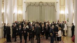 Στα άδυτα του Προεδρικού: οι ετοιμασίες για το επίσημο δείπνο Στάινμαγιερ