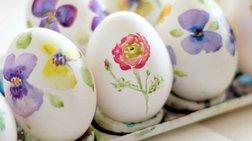 Βάψτε τα αβγά σας αλλιώς... Δείτε τα πιο πρωτότυπα σχέδια